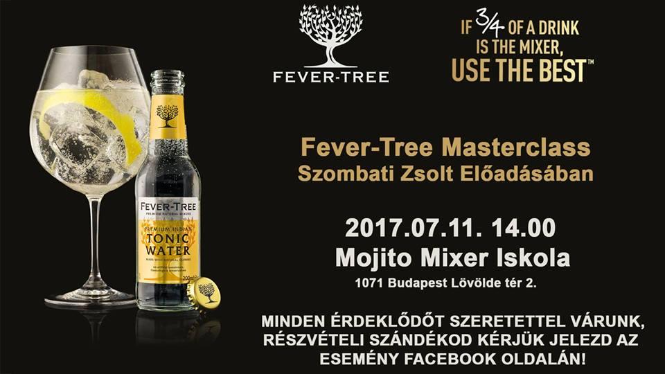 Fever-Tree Masterclass tréning