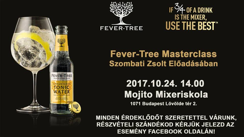 Fever Tree Masterclass – 2017.10.24.