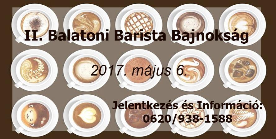 II. Balatoni Barista Bajnokság
