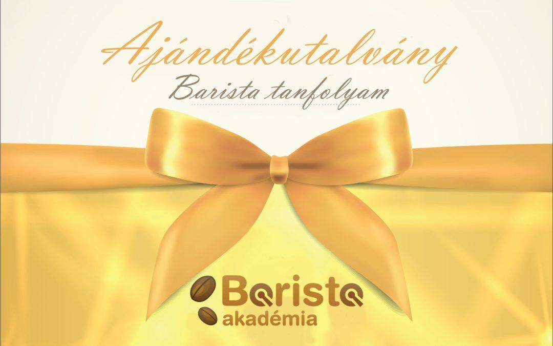 Élményt Ajándékba! Ajándékozz Barista és Mixertanfolyamot!