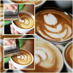 barista bártender kávé