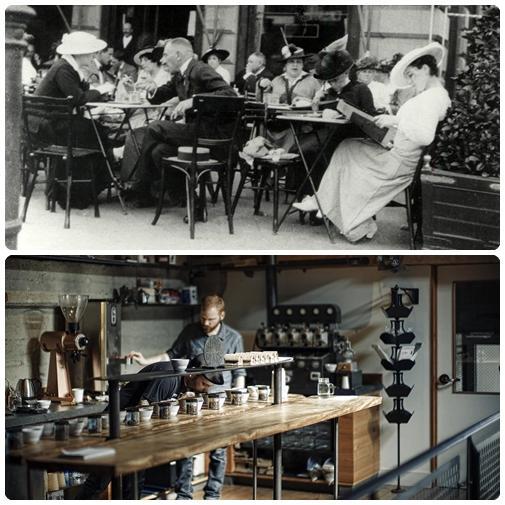 A kávéházi kultúra alakulása Magyarországon