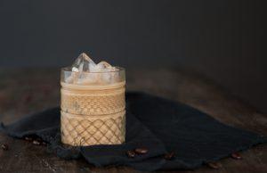 mandulás jeges kávé-barista akadémia