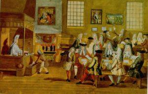első kávézó Velence