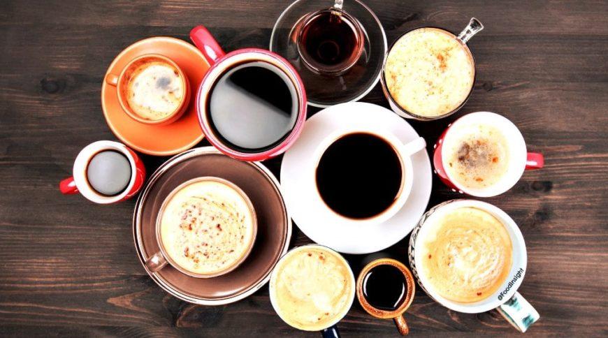 cappucciono, cortado, cubano, french press, caffee latte, török kávé