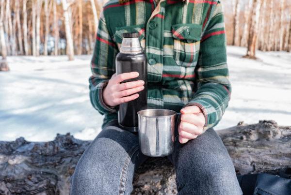 kiraándulás kávé készítés