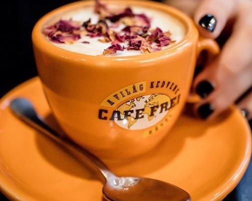 barista munka cafe frei